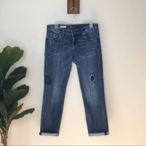 Kut From the Kloth Catherine Boyfriend patch jeans